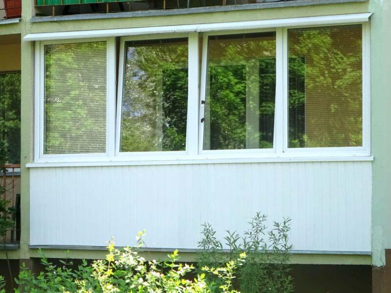 PCV-Fensterbebauung